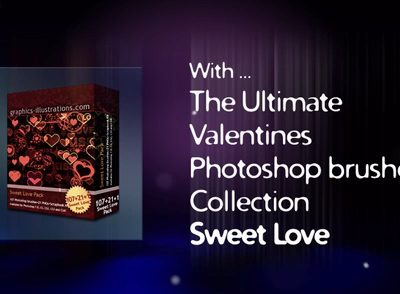 Valentines Day Photoshop brushes