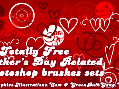 10 Free Father's Day Photoshop Brushes Sets