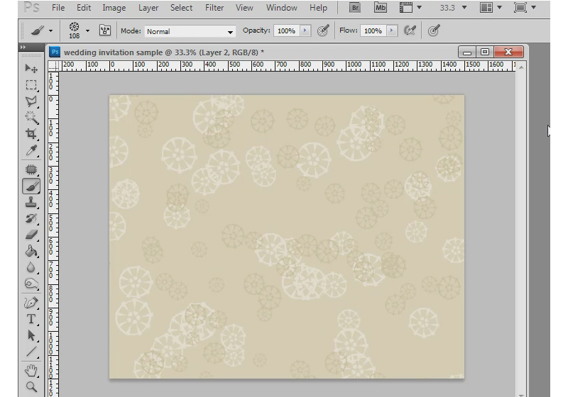 Photoshop Tutorial: How To Make a Wedding Invitation in Photoshop