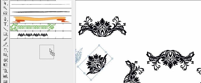 How To Create Pattern Brush in Adobe Illustrator