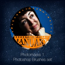 Photomasks Set 1 Photoshop Brushes