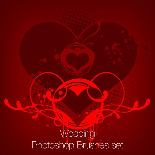 Wedding Photoshop Brushes Pack