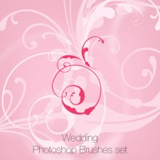 Wedding Photoshop Brushes Pack