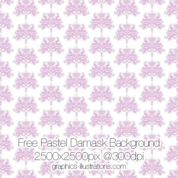 Damask Background Free Download