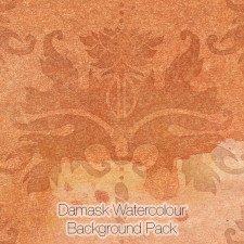 Damask Watercolour Background
