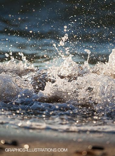Free Sandy beach foam photos
