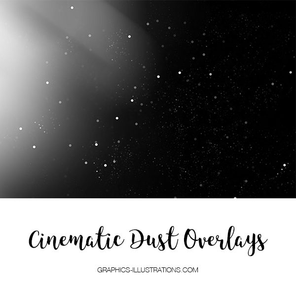 Cinematic Dust Photo Overlays