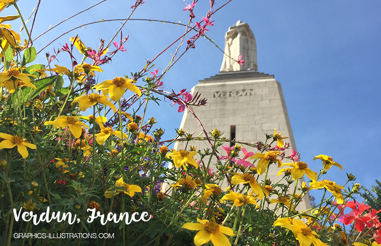 A Visit To Verdun (France) And Some Thoughts On Peace, Luck and Happiness