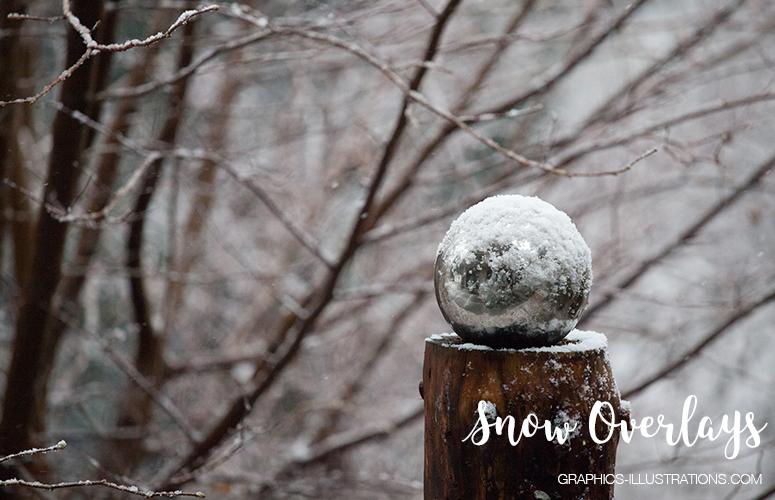 Snow Photo Overlays