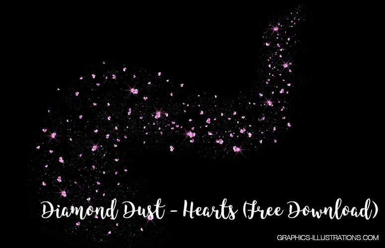 Heart Shaped Diamond Dust Free Download