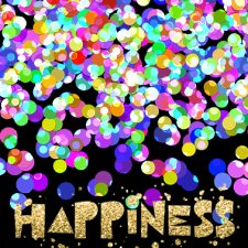 Colorful Confetti Overlays